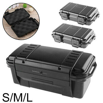 Waterproof box ABS plastic Protection Storage Shockproof Sealed Safety