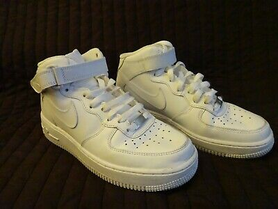 MENS NIKE AUTO FORCE 180 MID White Trainers 375579 101 UK