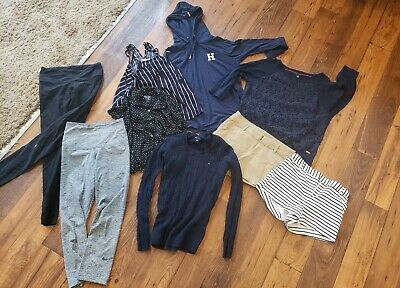 Lot (9) Womans/Girls Clothes *Size XS Small Petite