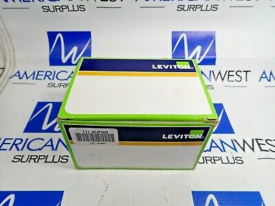 Leviton 67W47 Receptacle With Wetguard Ip 66 Cover 20A 125V L5-20R New