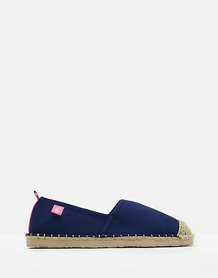 Joules Womens Ocean Flipadrille Flipadrilles in FRENCH NAVY Size Adult 5
