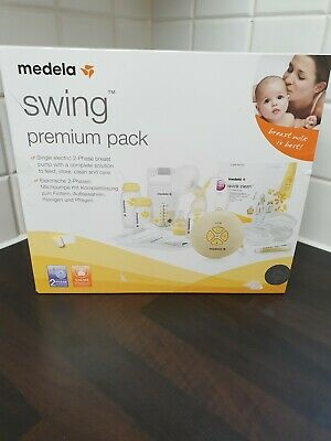 Medela Swing Premium Pack Breast Pump with BRAND NEW Tube