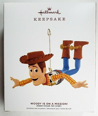 NEW Hallmark 2019 Woody Is On a Mission Disney Pixar Toy Story Ornament Keepsake