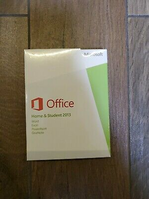MS Microsoft Office 2013 Home and Student Full English Retail Boxed Version PKC