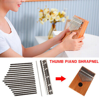 17 Sounds Thumb Piano Shrapnel Plucked Stringed Instrument Music Lovers Durable