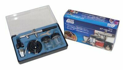 Anest Iwata Campbell MX2900 Air Brush Kit With Case DIY 9 From japan