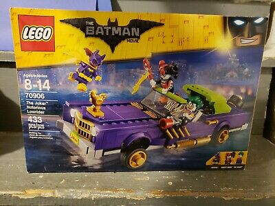 The LEGO Batman Movie The Joker Notorious Lowrider 70906 Car Vehicle brand new