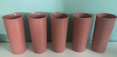 New Tupperware Textured 12 oz Stacking Tumbler Mold #873-7 G Dusty Rose Pink