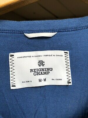 Reigning Champ - Lot/Bundle - 3 Tops - Logo T-Shirt, Tank Top, and SS Henley