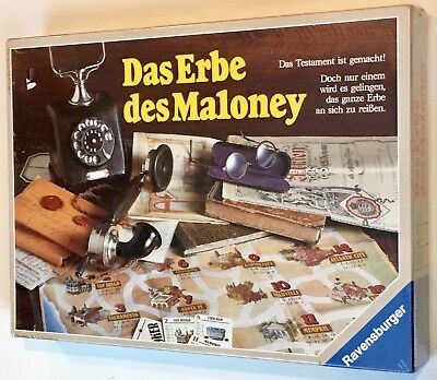 Legacy of Maloney The Testament Is Made Vintage Board Game 1980's