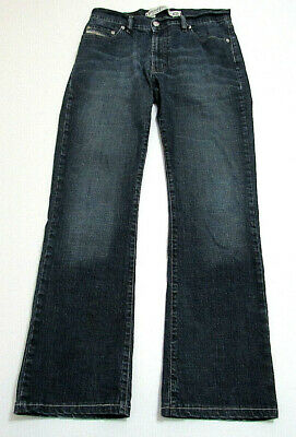 Diesel Industry Mens FANKER Jeans Blue Denim Cotton SZ 30 x 30 Five Pocket