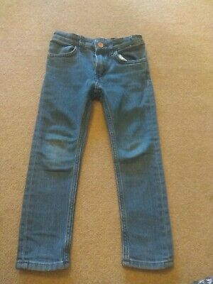 H&M Kids Boys girls Blue Faded Denim Slim skinny Fit Jeans Age 3-4 Years