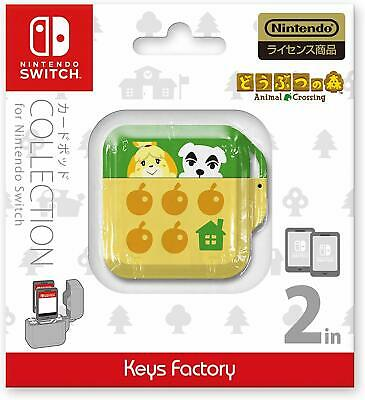Pre Animal Crossing CARD POD COLLECTION for Nintendo Switch official From JAPAN
