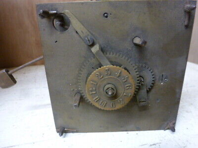 W & H clock movement with alarm for spares or repair.