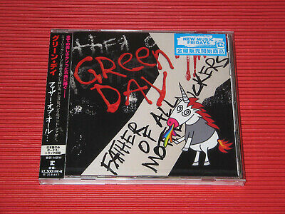 2020 Japan Cd Green Day Father Of All With One Bonus Track + Promo Listband