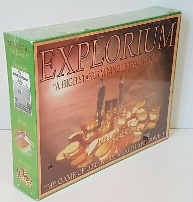 Explorium Mining Game New but Box & Wrap Have Issues - NO CDN IMPORT FEES 🍁