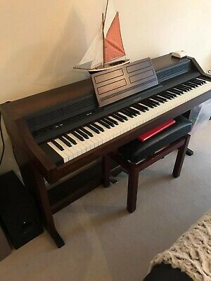 Roland HP-4500 Digital Piano with Stool - Used but Great Condition