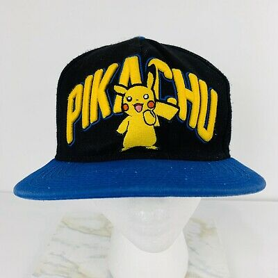 Pokemon Pikachu Adult Snapback Hat Cap Embroidered 2014 Official