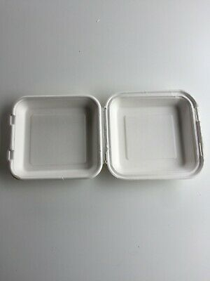 Fold-out Square Biodegradable Serving Dishes (290)