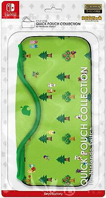 Pre Animal Crossing QUICK POUCH COLLECTION for Nintendo Switch Official JAPAN