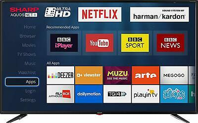 Sharp LC-55UI7352K 55 Inch SMART 4K Ultra HD HDR LED TV Freeview HD USB Record
