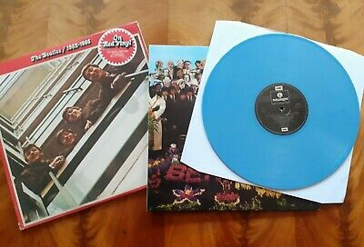 The Beatles Sgt Pepper Blue Vinyl & 1962 - 1966 Red Vinyl