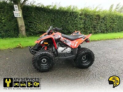 Can-Am DS 90 Youth ATV - ex display