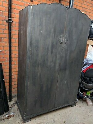 Solid Wood Antique Style Wardrobe