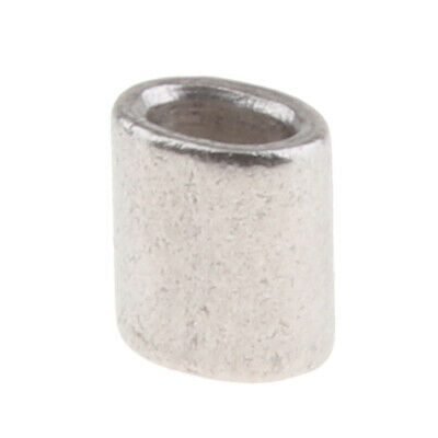 Marine 304 Stainless Steel Cable / Wire Rope Ferrules 1.0 mm to 6.0 mm
