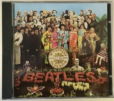 The Beatles - Sgt. Pepper's Lonely Hearts Club Band..(1987 CD Album)...Fast Post