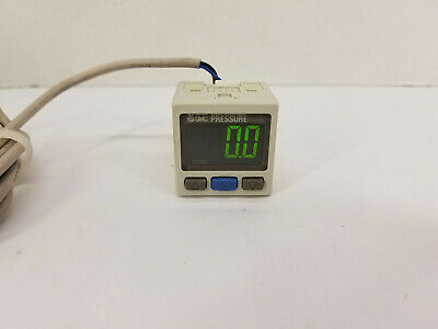 SMC ISE30A-N7L-P High-Precision Digital Pressure Switch with Display - Working!!