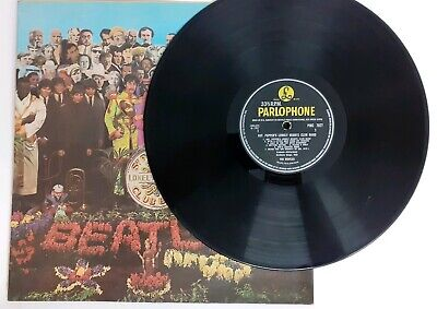 THE BEATLES Sgt Pepper LP 1967 PARLOPHONE MONO 1st PRESS - PMC 7027