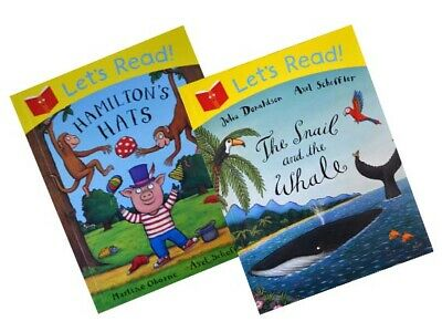 Let's Read – The Snail and the Whale / Hamilton's Hat [2 book set]