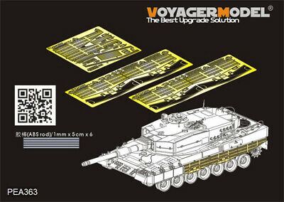 1//35 Voyager BR35024 German Leopard 2A4 Lenses and taillights For MENG TS-016