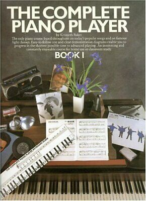 The Complete Piano Player Book 1 Sheet Music Book and CD NEW 014041334