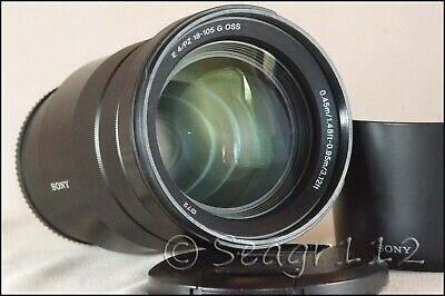 Sony G-Series E PZ 18–105 mm F4 G OSS Lens for Sony (SELP18105G) - Near Mint