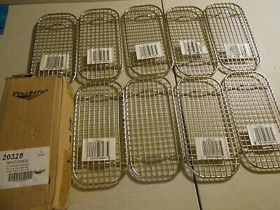Huge Lot of 15 New Vollrath 20328 One-Third Size Pan Wire Grate