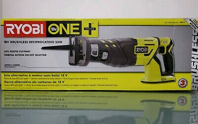 Ryobi P517 ONE+ 18V Brushless Reciprocating Saw Cordless (Tool Only) NEW IN BOX