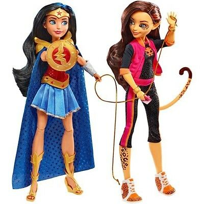 2017 SDCC EXCLUSIVE DC Super Hero Girls  Wonder Woman and Cheetah