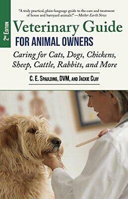 Veterinary Guide for Animal Owners  2nd Edition  Caring for Cats  Dog