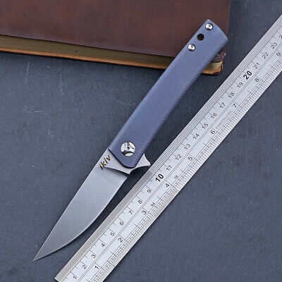 TC4 titanium alloy handle s35vn blade folding tactical NEW knife smooth opening