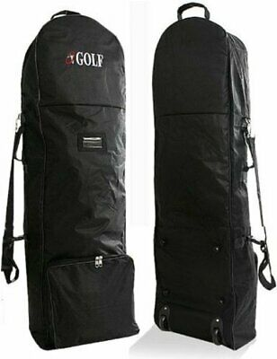 Travel Cover for Golf Caddie Cart Bag Black With Caster Wheel JP