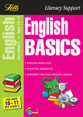 Letts literacy support: English basics for ages 10-11 by Louis Fidge (Paperback