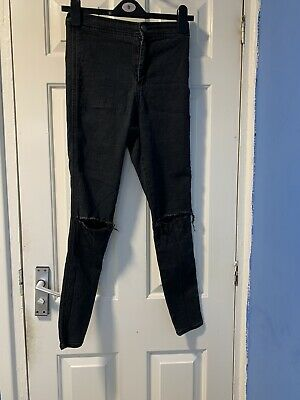 Womens ASOS denim ripped skinny jeans  W26 L30