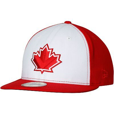 Vancouver Canadians New Era Alternate 2 Authentic 59FIFTY Fitted Hat - White/Red