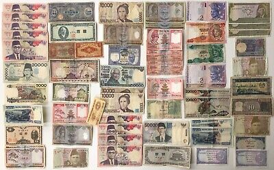 63 x Mixed Banknote Collection - ASIA.  (3146)