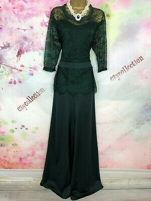 BNWOT maxi full length green jumpsuit dress Size 18 party/Wedding/holiday/cruise