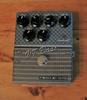 Tech 21 VT Bass Preamp/Overdrive Pedal