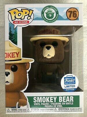 Funko Pop - Smokey the Bear - Ad Icons Funko Shop Limited Edition! IN STOCK!