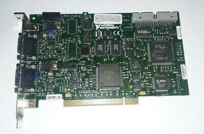 National instruments PCI-CAN ul94v-0